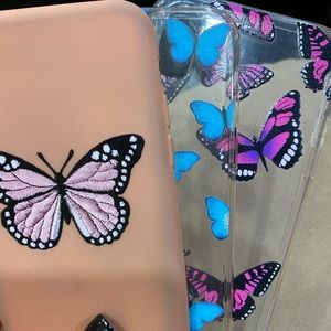 3 iphone xs butterfly cases